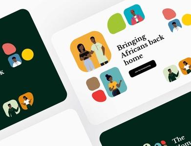 Community Website ux community website websites website concept inspiration webdesign designs website community design uiux ui web african