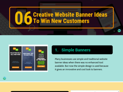 06 Creative Website Banner Ideas To Win New Customers By John Ware On Dribbble