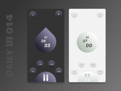 Daily UI 014 - Countdown Timer timer timer app countdown timer dailyui014 figma figmadesign app ui daily ui