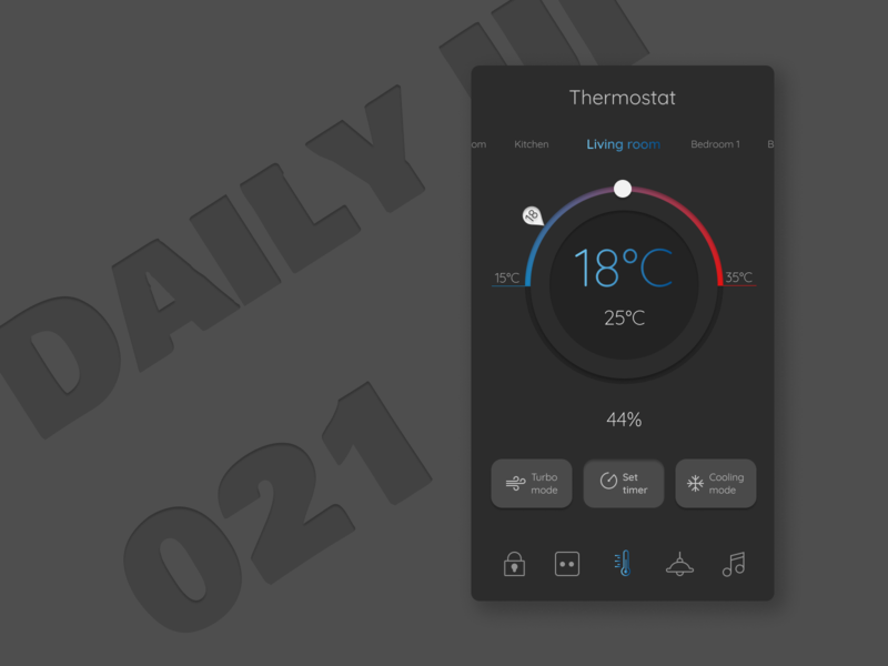 Daily UI 021 Home Monitoring Dashboard monitoring dashboard dashboard app design app ui smart home app smart home home monitoring dashboard 021 dailyui021 dailyui