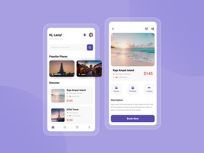 Travel Aplication Design travel app travel uiuxdesigner uiux design ui interface ui design uiuxdesign design interface uidesign uiux ui