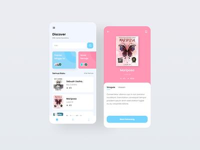 Exploration-Reading App uiinspirations reading app books apps branding design interface uiux uidesign ui