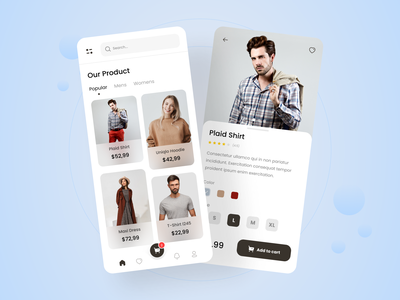 Exploration-Clothing app shirt design fashion design fashion app clothing awesome design clean ui clean branding apps design interface uiux uidesign ui