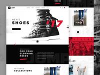 Jump E-commerce website design