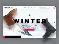 Frecoxs online e-commerce design