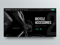 Sports Wear Website Redesign