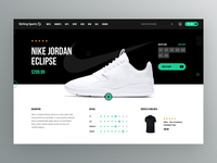 Sports Wear Website Redesign - Product Details