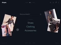 shopse. - Homepage to Products Listing