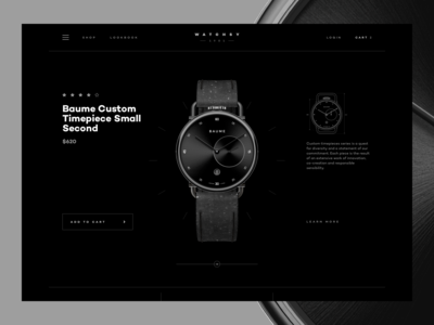 Watchsy - Product Details Page