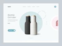 Quibic - homepage slider