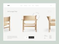 Takt - product details redesign product design ux ui web magento prestashop shopify eshop clean e-commerce