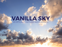 Vanilla Sky - 20 Optically Captured Backgrounds