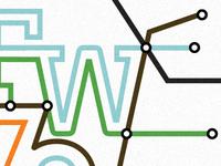 Fort Wayne metro system map