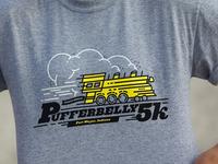 PB 5K Final Gray T-shirt