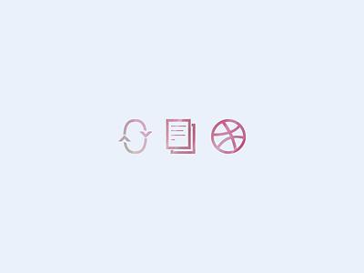 Icons for my porfolio icons