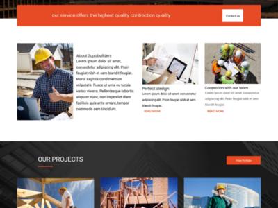 Constructions web site