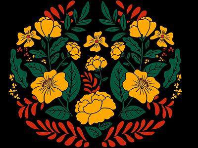 Floral pattern graphic designer art and design doodles art colourful design illustration