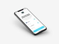 Marq - social networks integration artificial intelligence ai 3d logo illustration iphone mobile sketch ios app design ux