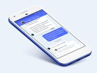 Material chat app