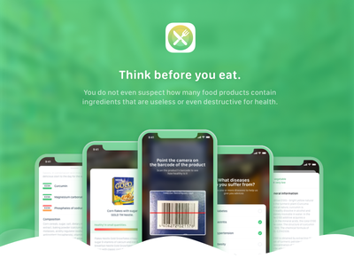 Healeats - Think before you eat. ios body eats eat products ux ui design app health