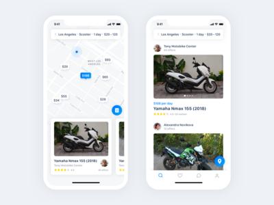 Spotbike - applications for motorbike sharing