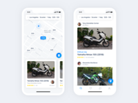 Spotbike - applications for motorbike sharing