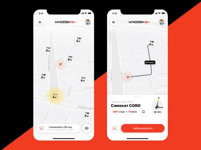 WHOOSH app that we deserve sharing sharing economy apple iphone mobile sketch ios app design ux ui