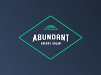 Recent branding project Abundant Energy Solar