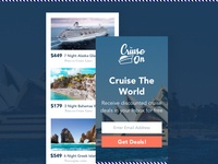 Cruise On Website Mobile Design