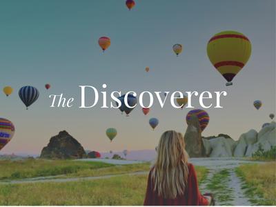 The Discoverer branding