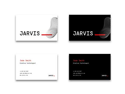 Name Card Concept graphic design branding tech namecard