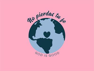 God is good love corazon logotype lettering logo draw digital ilustración art arte design diseño