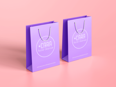 Shopping Bag +CARA product product design shopping bag shopping bag ux branding ui logo design digital diseño