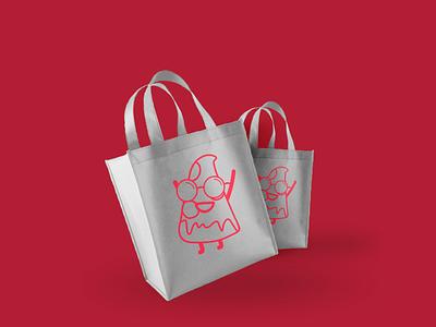 Oasis pizzero Bag bag pizzeria pizza branding logo arte ilustración design digital diseño