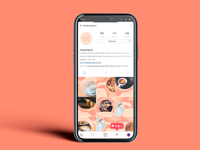 Simple and good instagram cafe instagram post instagram feed illustration branding logo arte ilustración design digital diseño