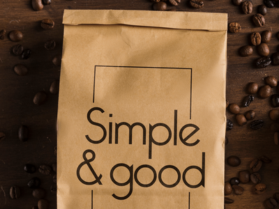 Simple and good cafe branding cafe logo cafeteria coffee cafe branding logo ilustración design digital diseño