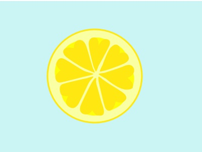 Lemonaid Logo heart lemon logo design