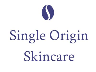 Single Origin Skincare beauty coffee logo branding