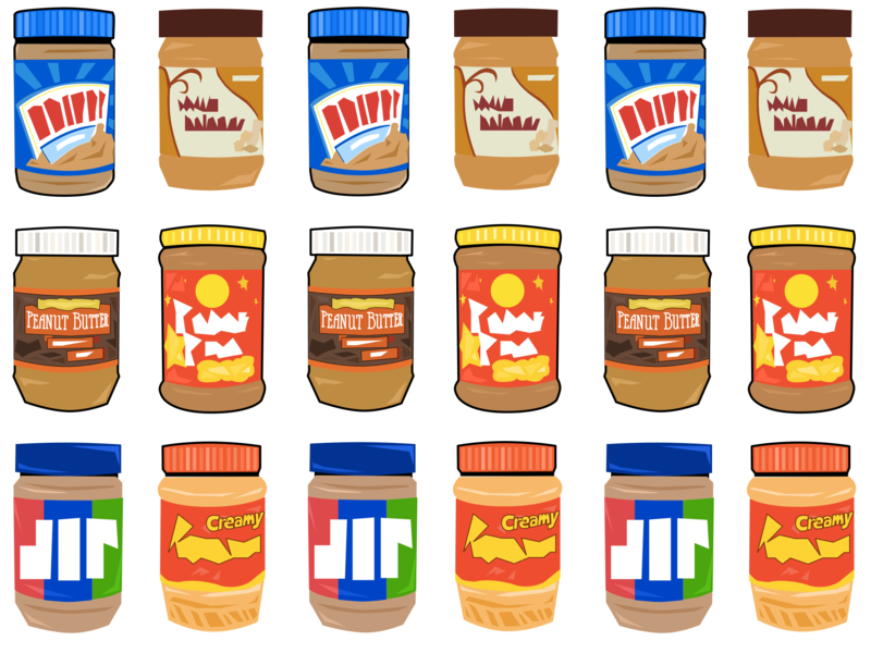 Peanut Butter Lover peanut butter illustration