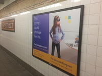Subway ad campaign