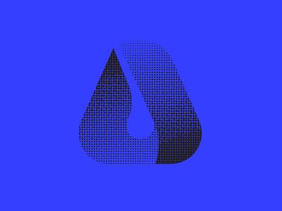 Sci-Fi Logo? 36daysoftype07 36daysoftype a blue logo design logo icon icon design graphic design vector lettering typography