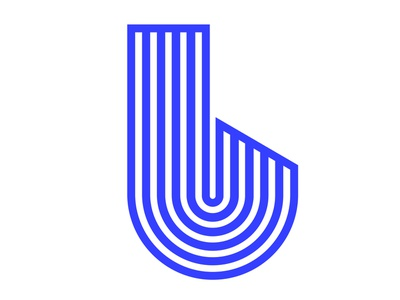 B's buzzin' design blue icon design icon illustration vector identity lettering typography 36daysoftype07 36daysoftype