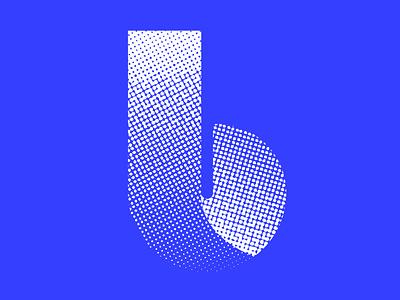 B^4 logo design texture icon design icon illustration vector identity lettering typography 36daysoftype07 36daysoftype
