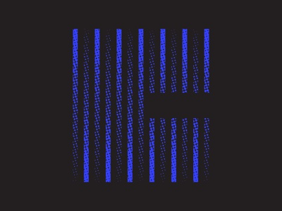 Banding Problems blue texture logo design logo identity icon design icon lettering typography 36daysoftype07 36dayoftype