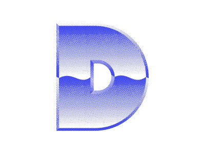 A little 80s vibes for this D 36days-adobe 36 days of type halftone custom lettering custom type vibes gradient font design blue texture logo design icon design logo icon lettering typography 36daysoftype07 36daysoftype