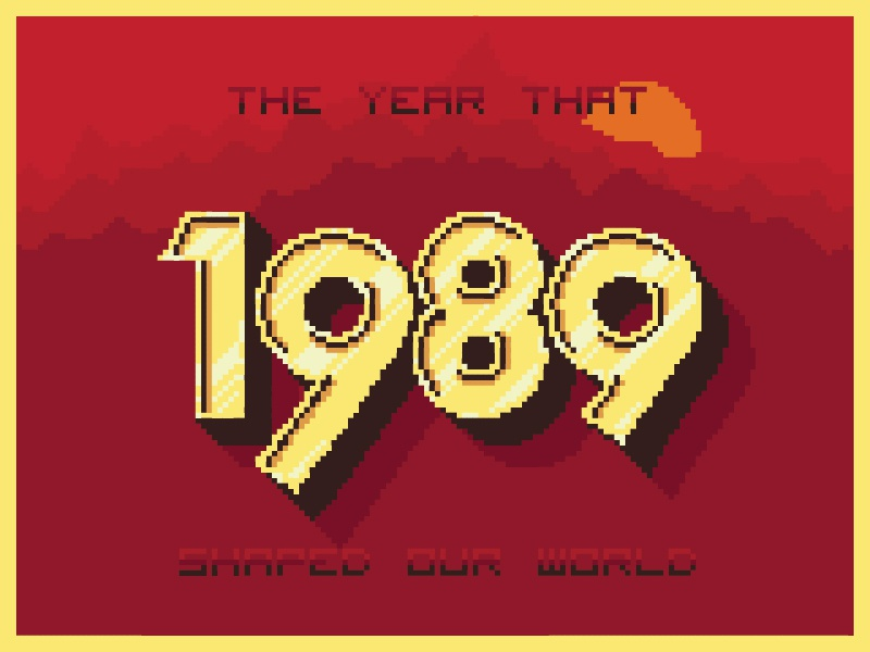 1989 by Todd Fooshée | Dribbble | Dribbble