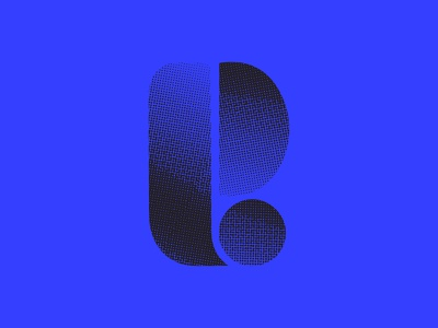 E bauhaus black blue texture logo design icon design logo icon lettering typography 36days-adobe 36daysoftype07 36 days of type 36daysoftype