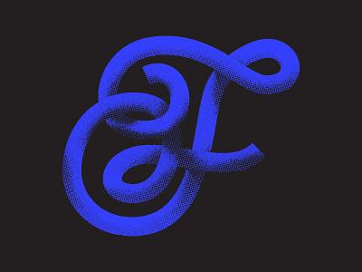 F texture illustration lettering typography logodesign logo icon design gradient icon stipple gradient branding photoshop halftone script 36 days of type lettering 36 days of type 36daysoftype07 36daysoftype