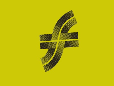 Could be a logo identity design identity typography thick lines modern lettering logo design icon design logodesign icon logo branding texture halftone inline bevel 36daysoftype07 36daysoftype 36 days of type lettering 36 days of type