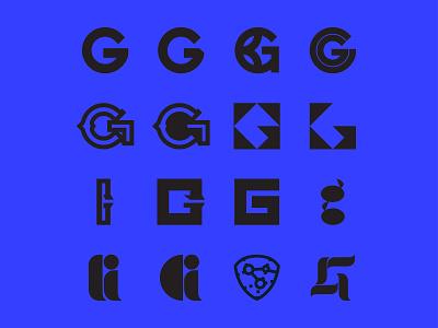G^16 lettering identity design blue baseball branding identity icon design icons icon logo design logo logo exploration 36 days of type lettering 36 days of type 36daysoftype07 36daysoftype